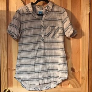 Columbia Woman's Short Sleeve Tunic with Pockets